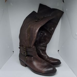 Arturo Chiang Brown Heeled Boots